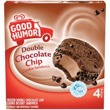 Good Humor™ Frozen Double Chocolate Chip Cookie Sandwich 4 ct Box