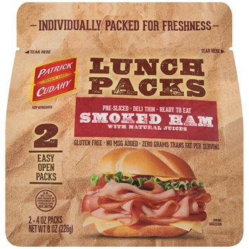 Patrick Cudahy® Lunch Packs Smoked Ham 2-4 oz. Packs