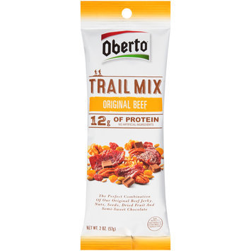 Oberto® Trail Mix Original Beef 2 oz. Pack