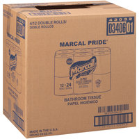 Marcal Pride® 2-Ply Soft & Strong Double Roll Bath Tissue 4-12 ct Packs