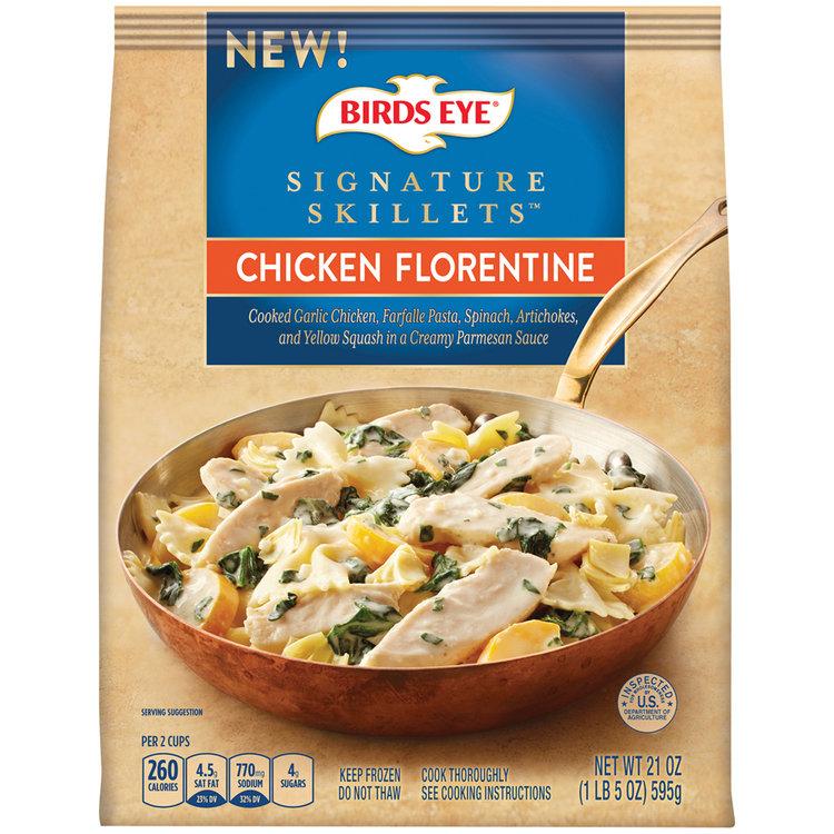 birds eye® signature skillets™ chicken florentine