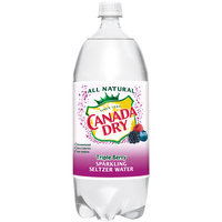 Canada Dry Triple Berry Sparkling Seltzer Water, 2 L Bottle