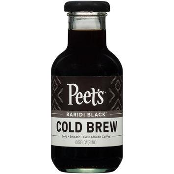 Peet's™ Baridi Black™ Cold Brew Coffee 10.5 fl. oz. Bottle