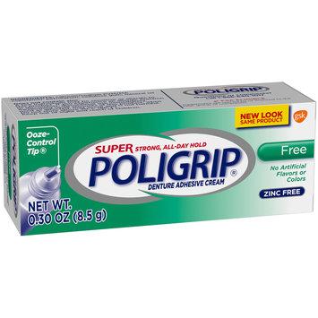 Super Poligrip® Free Denture Adhesive Cream 0.30 oz. Box
