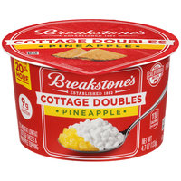 Breakstone's Cottage Doubles Cottage Cheese & Pineapple Topping 4.7 oz. Tub