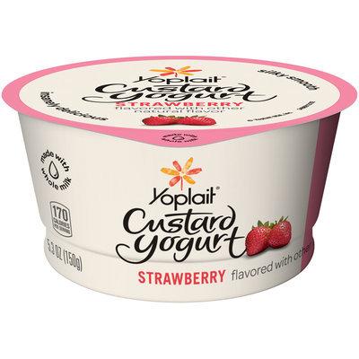 Yoplait® Strawberry Custard Yogurt