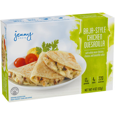 Jenny Craig® Baja-Style Chicken Quesadilla 4 oz. Box