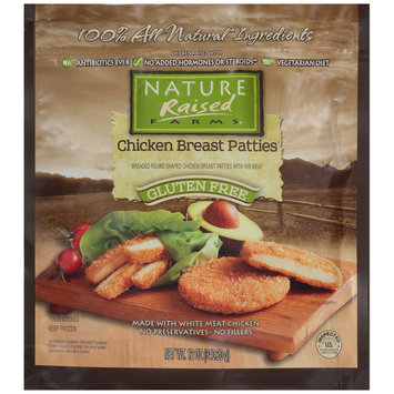 NatureRaised Farms® Chicken Breast Patties 12 oz. Stand-Up Bag