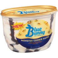 Blue Bunny New Ice Cream Monster Cookie Mash