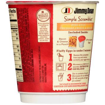 Jimmy Dean®Bacon Simple Scrambles™ 5.35 oz. Microwavable Bowl