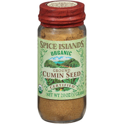 Spice Islands® Organic Ground Cumin Seed 2 oz. Jar