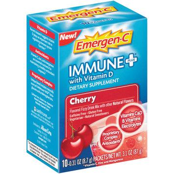 Emergen-C® Immune Plus® Cherry Dietary Supplement with Vitamin D 10-0.31 oz. Packets
