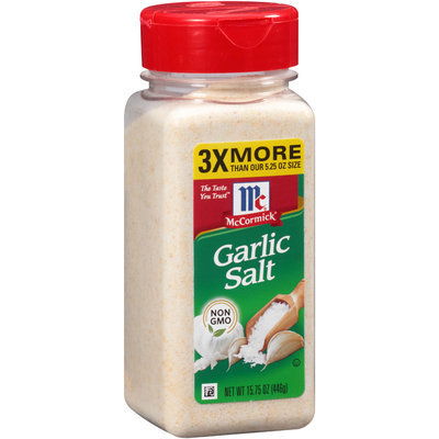 McCormick® Garlic Salt 15.75 oz. Shaker