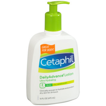 Cetaphil® DailyAdvance® Ultra Hydrating Body Lotion 16 fl. oz. Pump