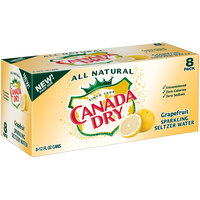 Canada Dry Grapefruit Sparkling Seltzer Water