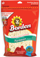 Borden® Natural Finely Shredded Parmesan Cheese 5 oz. Stand up Bag