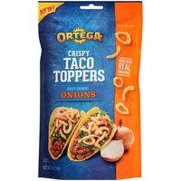Ortega® Crispy Taco Toppers Onions 3.5 oz. Pouch