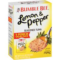 Bumble Bee® Lemon & Pepper Seasoned Tuna 5-2.5 oz. Box