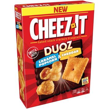 Cheez-It Duoz® Caramel Popcorn & Cheddar Baked Snack Crackers & Popcorn 8.7 oz. Box