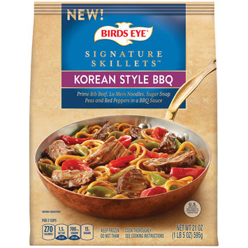 Birds Eye® Signature Skillets™ Korean Style BBQ 21 oz. Bag