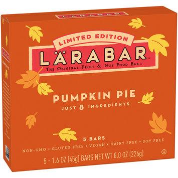 Larabar™ Limited Edition Pumpkin Pie Fruit & Nut Bars 5 ct Box