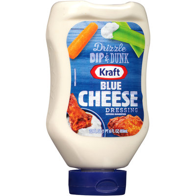 Kraft Blue Cheese Dressing 22 fl. oz. Bottle