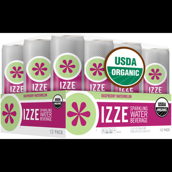 Izze® Raspberry Watermelon Sparkling Water Beverage 12-12 fl. oz. Cans
