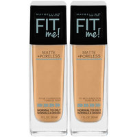 Fit Me!® Matte + Poreless Foundation 220 Natural Beige 2-1 fl. oz. Pump Bottles