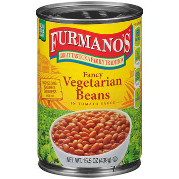 Furmano's® Fancy Vegetarian Beans 15.5 oz. Can