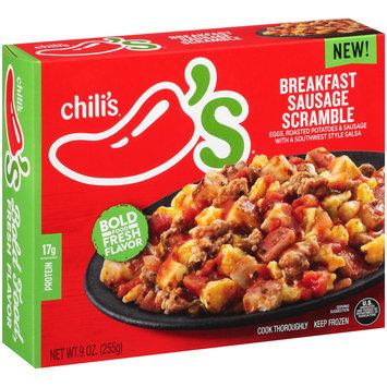 Chili's® Breakfast Sausage Scramble Frozen Dinner 9 oz. Box