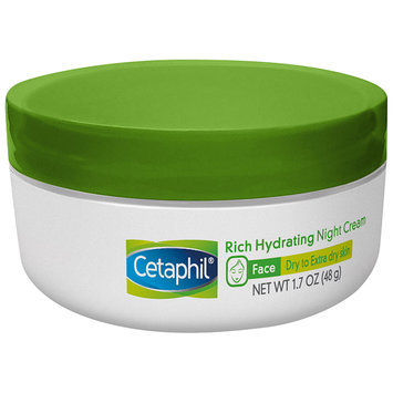 Cetaphil® Face Rich Hydrating Night Cream 1.7 oz. Jar