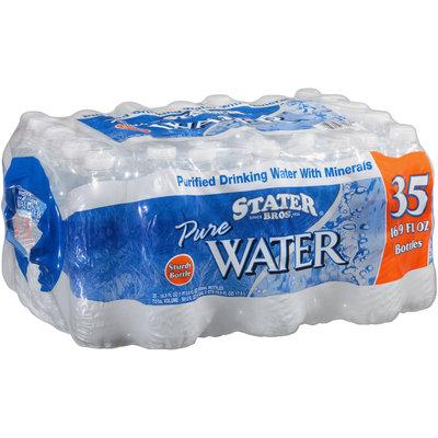 Stater Bros.® Pure Water 35-16.9 fl. oz. Bottles