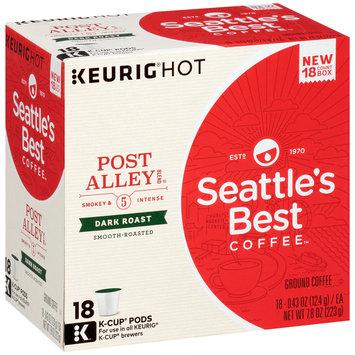 Seattle's Best Coffee™ Post Alley Blend® Dark Roast Ground Coffee K-Cup® Pods 18 ct Box