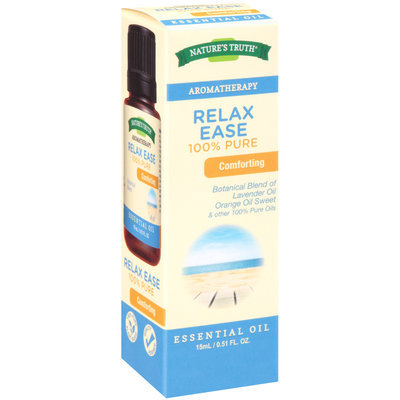 Nature's Truth® Aromatherapy Relax Ease 100% Pure Essential Oil 0.51 fl. oz. Box