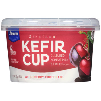 Lifeway Strained Kefir Cup with Cherry Chocolate 5.3 oz. Cup