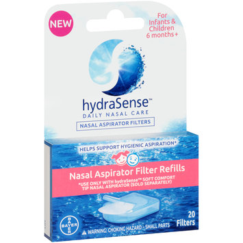 HydraSense™ Daily Nasal Care Nasal Aspirator Filter Refills 20 ct Box