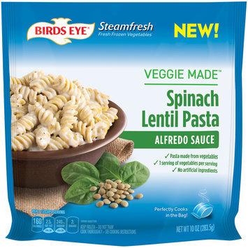 birds eye® steamfresh® veggie made™ alfredo sauce spinach lentil pasta