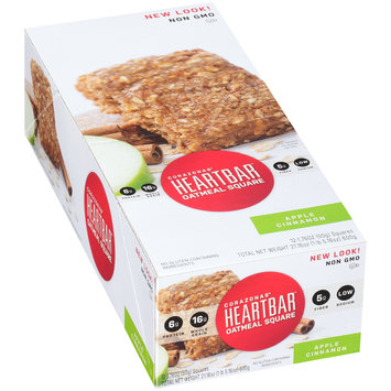 Corazonas® Heartbar™  Apple Cinnamon Oatmeal Square Bars 12-1.76 oz. Bars