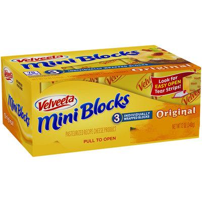 Velveeta Mini Blocks Original Cheese 3 ct Box
