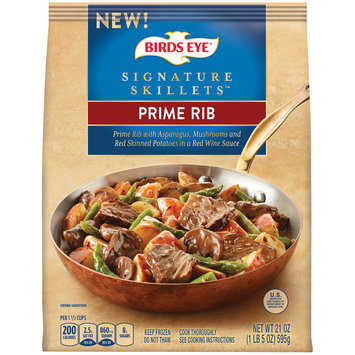 Birds Eye® Signature Skillets™ Prime Rib 21 oz. Bag
