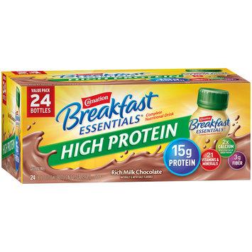 Carnation Breakfast Essentials® High Protein Rich Milk Chocolate Nutritional Drink 24 ct Box
