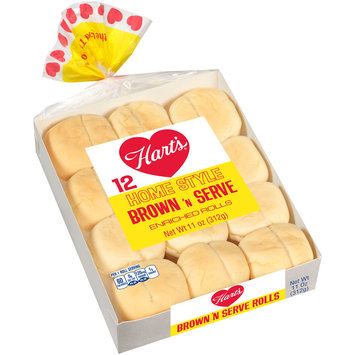 Hart's® Home Style Brown 'n Serve Enriched Rolls 11 oz. Pack