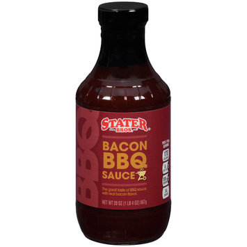 Stater Bros.® Bacon BBQ Sauce 20 oz. Bottle