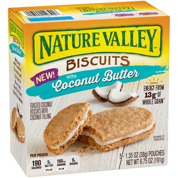 Nature Valley™ Biscuits with Coconut Butter 5-1.35 oz. Box