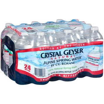 Crystal Geyser® Natural Alpine Spring Water 24-16.9 fl. oz. Bottles
