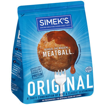 Simek's® Original Meatballs 22 oz. Bag