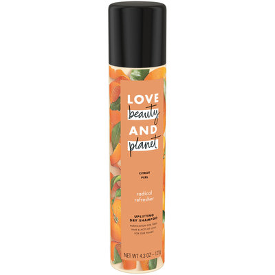 Love Beauty And Planet Radical Refresher Citrus Peel Dry Shampoo