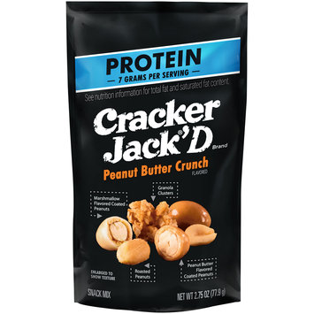 Cracker Jack'D® Peanut Butter Crunch Snack Mix 2.75 oz. Bag
