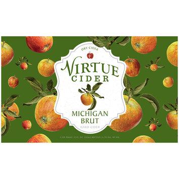 Virtue Michigan Brut Dry Hard Cider 24-12 fl. oz. Bottles