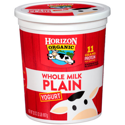 Horizon Whole Milk Plain Yogurt